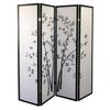 Ore International 4-Panel Room Divider - Bamboo