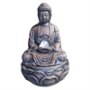 Buddha Fountain With Crystal - 12""