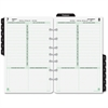 "Day-Timer Planner Refill - Daily - 1 Year - January 2017 till December 2017 - 8:00 AM to 9:00 PM - 1 Day Single Page Layout - 5.50"" x 8.50"" - Tabbed, Expense Form, Page Finder, Address Directory, Phon"
