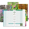 "Day-Timer Garden Path Monthly Planner Refills - Monthly - 1 Year - January 2017 till December 2017 - 1 Month Double Page Layout - 5.50"" x 8.50"" - Light Beige - Tabbed, Refillable"