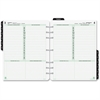 """Day-Timer Daily Planner Refill - Daily - 1 Year - January 2017 till December 2017 - 8:00 AM to 9:00 PM - 1 Day Single Page Layout - 8.50"""" x 11"""" - Tabbed, Expense Form, Page Finder, Address Directory,"""