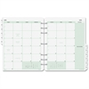 """Day-Timer Monthly Calendar Refill - Julian - Monthly - 1 Year - January 2017 till December 2017 - 1 Month Double Page Layout - 11"""" x 8.50"""" - Tabbed"""
