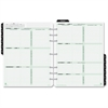 """Day-Timer 2 Pages Per Week Reference Dated Calendar Pages - Weekly - 1 Year - January 2017 till December 2017 - 8:00 AM to 5:00 PM - 1 Week Double Page Layout - 8.50"""" x 11"""" - Appointment Schedule, Ref"""