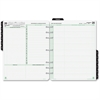 """Day-Timer 2 Pages Daily Calendar Refill Pages - Julian - Daily - 1 Year - January 2017 till December 2017 - 7:00 AM to 11:00 PM - 1 Day Double Page Layout - 8.50"""" x 11"""" - Tabbed, Expense Form, Address"""