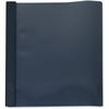 """Sparco Paperex Clear Front Report Cover - Letter - 8 1/2"""" x 11"""" Sheet Size - 100 Sheet Capacity - 3 Fastener(s) - 1/2"""" Fastener Capacity - Paperex - Dark Blue, Clear - 25 / Box"""