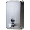 Genuine Joe Stainless Steel Soap Dispenser - Manual - 31.5 fl oz (932 mL) - Stainless Steel