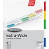 "Wilson Jones® Oversized Insertable Dividers - 5 x Divider(s) - 5 Tab(s) - 5 Tab(s)/Set - 9.25"" Divider Width x 11"" Divider Length - 9.25"" Width x 11"" Length - Multicolor Paper Tab(s) - 5 / Set"