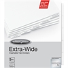 "Wilson Jones® Oversized Insertable Dividers - 5 x Divider(s) - 5 - 5 Tab(s)/Set - 9.25"" Divider Width x 11"" Divider Length - 9.25"" Width x 11"" Length - Clear Paper Tab - 5 / Set"