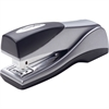 "Optima Grip Compact Stapler - 25 Sheets Capacity - 105 Staple Capacity - Half Strip - 1/4"" Staple Size - Silver"