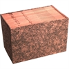 """Wilson Jones® LeatherLife® Expanding File - Legal - 8 1/2"""" x 14"""" Sheet Size - 18"""" Expansion - Brown - Recycled - 1 Each"""