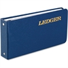 "Wilson Jones Ring Binder Ledger Outfits - 100 Sheet(s) - Ring Binder - 5.50"" x 8.50"" Sheet Size - Blue Cover - 1 Each"