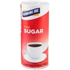 Genuine Joe Pure Sugar Canister - Canister - 1.25 lb - Natural Sweetener - 3/Pack