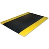 "Genuine Joe Safe Step Anti-Fatigue Mat - Warehouse, Factory - 12 ft Length x 36"" Width x 0.55"" Thickness - Black"