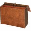 "Pendaflex Heavy-duty Accordion Wallet - 10"" x 15 3/8"" Sheet Size - 3 1/2"" Expansion - 24 pt. Folder Thickness - Brown - 1 Each"