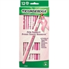 Ticonderoga Breast Cancer Awareness Pencil - #2 Lead Degree (Hardness) - Black Lead - 1 Dozen