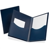 "Oxford Poly Double Stuff Twin Pocket Folders - Letter - 8 1/2"" x 11"" Sheet Size - 200 Sheet Capacity - 2 Pocket(s) - Polypropylene - Opaque - 1 Each"