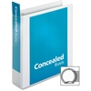 """Cardinal ProVue Non-Stick Concealed Rivet Round Ring Binder - 2"""" Binder Capacity - Letter - 8 1/2"""" x 11"""" Sheet Size - 475 Sheet Capacity - 2 1/2"""" Spine Width - 3 x Round Ring Fastener(s) - 2 Inside Fr"""