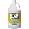 Simple Green Industrial Cleaner and Degreaser - Lemon Scent - Concentrate Liquid Solution - 1 gal (128 fl oz) - Lemon Scent - 1 Each - Lemon