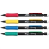 Integra Grip Mechanical Pencil - 0.7 mm Lead Diameter - Refillable - Black Lead - Assorted Barrel - 1 Dozen
