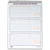 "TOPS Message Log Book - 50 Sheet(s) - Spiral Bound - 3 Part - 6"" x 9"" Sheet Size - White Sheet(s) - 1 Each"
