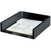 "Fellowes Designer Suites Letter Tray - 2.5"" Height x 11.1"" Width x 13"" Depth - Desktop - Black, Pearl - 1Each"