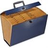 "Pendaflex File Express - Legal - 8 1/2"" x 14"" Sheet Size - 19 Pocket(s) - Fiberboard - Black, Blue, Green, Burgundy - 1 Each"
