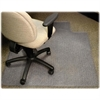 "Lorell Diamond Anti-static Chair Mat - Carpeted Floor - 48"" Length x 36"" Width x 0.12"" Thickness - Lip Size 12"" Length x 20"" Width - Rectangle - Clear"