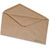 "Pendaflex Earthwise No. 10 Brown Kraft Envelopes - Business - #10 - 9.50"" Width x 4.13"" Length - 60 lb - V-shaped Flap - 500 / Box - Natural Brown"