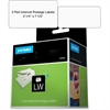 "Dymo Postage Labels - 2.25"" Width x 7.50"" Length - 150 / Roll - Direct Thermal - White - 150 / Roll"