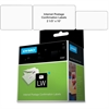 "Dymo Address Labels - 2.31"" Width x 10"" Length - 100 / Roll - White - 100 / Roll"