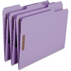 """Smead Colored Fastener Folders with Reinforced Tabs - Letter - 8 1/2"""" x 11"""" Sheet Size - 3/4"""" Expansion - 2 Fastener(s) - 2"""" Fastener Capacity - 1/3 Tab Cut - Assorted Position Tab Location - 11 pt. F"""