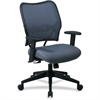 "Office Star Space VeraFlex Series Task Chair - Blue - Fabric Blue Mist Seat - Fabric Back - 27"" x 26.5"" x 40"" Overall Dimension"