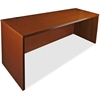 "Lorell Credenza - 60"" x 24"" x 29"" - Fluted Edge - Material: Hardwood - Finish: Cherry, Veneer"