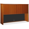 "Lorell Stack-On Storage - 60"" x 14"" x 39"" - Fluted Edge - Material: Hardwood - Finish: Cherry, Veneer"