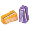 Simple Pencil Sharpener - Handheld - 1 Hole(s) - Plastic - Assorted