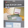 "MACO White Laser/Ink Jet Address Label - Permanent Adhesive - 1"" Width x 2.63"" Length - 30 / Sheet - Rectangle - Laser, Inkjet - White - 750 / Pack"