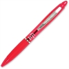 Zebra Pen Z-Grip Max Ballpoint Pen - Bold Point Type - 1.2 mm Point Size - Red - Translucent Barrel - 1 Each