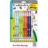 Zebra Pen Cadoozles Mechanical Pencil - #2 Lead Degree (Hardness) - 0.7 mm Lead Diameter - Refillable - Assorted Wood Barrel - 10 / Pack