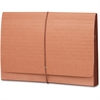 "TUFF® Wallets - 10"" x 15 3/8"" Sheet Size - 3 1/2"" Expansion - Redrope - Redrope - Recycled - 1 Each"