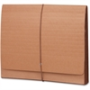 "Smead TUFF® Wallets - 10"" x 12 3/8"" Sheet Size - 3 1/2"" Expansion - Redrope - Redrope - Recycled - 1 Each"