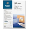 "Shipping Label - Permanent Adhesive - 3.33"" Width x 4"" Length - Rectangle - Laser - White - 600 / Pack"