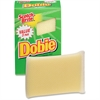 "Scotch-Brite Dobie All Purpose Cleaning Pad - 3.1"" Height x 2.3"" Width x 4.7"" Depth - 3/Pack - Yellow"