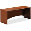"Mayline Brighton Credenza Shell - 72"" x 24"" x 29"" - Finish: Cherry, Laminate"