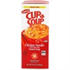 Lipton Chicken Noodle Cup-A-Soup - Low Calorie - Cup - 1 Serving Cup - 0.45 oz - 22 / Box