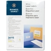 "Business Source Mailing Laser Label - Permanent Adhesive - 1.33"" Width x 4"" Length - Rectangle - Laser - White - 3500 / Pack"