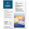 "Business Source Mailing Inkjet Label - Permanent Adhesive - 2"" Width x 4"" Length - Rectangle - Inkjet - White - 1000 / Pack"