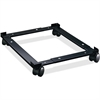 "Lorell Commercial File Caddy - 400 lb Capacity - 4 Casters - Steel - 16.6"" Width x 4"" Depth x 11.4"" Height - Black"