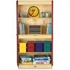 "Jonti-Craft Deluxe Classroom Closet - 36"" x 24"" x 72"" - Lockable, Adjustable Shelf, Kick Plate, Non-yellowing, Stain Resistant, Sturdy, Key Lock - Wood Grain - Baltic Birch Plywood"