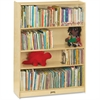 "Jonti-Craft Bookcase 60""High, 4 Adjustable Shelves - RTA - 0962JC - 5 Compartment(s) - 60"" Height x 36.5"" Width x 12"" Depth - Wall Mountable - Wood Grain - Baltic Birch Plywood - 1Each"