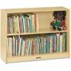 "Jonti-Craft Bookcase 36""High, 2 Adjustable Shelves - RTA - 0960JC - 3 Compartment(s) - 36"" Height x 36.5"" Width x 12"" Depth - Wall Mountable - Wood Grain - Baltic Birch Plywood - 1Each"
